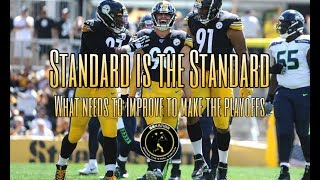 Standards is the Standard: Diagnosing what needs to improve for the Steelers to make the playoffs