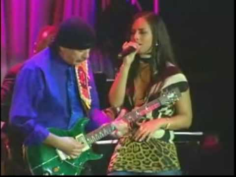 Santana & Alicia Keys - Black Magic Woman
