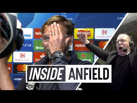 Inside Anfield: Liverpool 3-2 PSG | Unseen footage from another classic