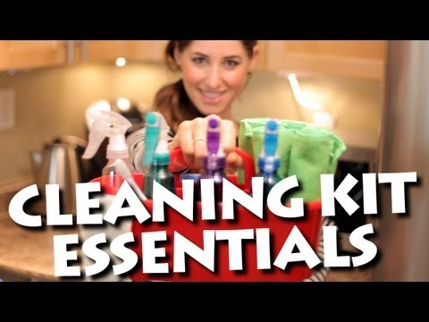 Cleaning kit essentials, how to save time and money cleaning your home!
