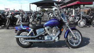 2. 000535 - 2006 Honda Shadow Spirit   VT1100C - Used motorcycles for sale