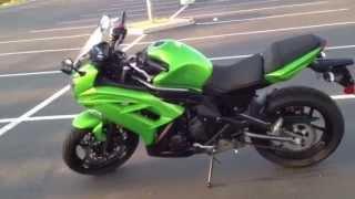 5. 2012 Ninja 650 walkaround and review