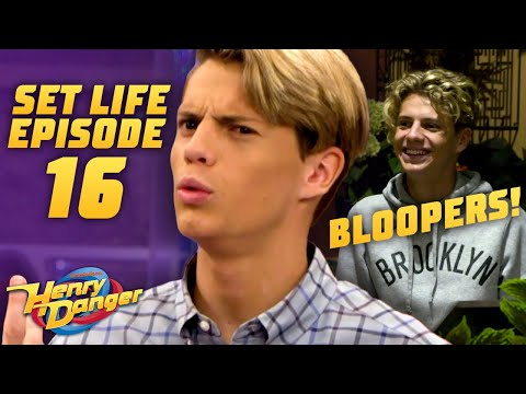 BLOOPERS From Henry Danger's Final Season 😂  BTS Ep. 16 | #SetLifeOnNick | Henry Danger