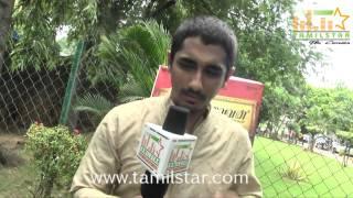 Siddharth at Kaaviya Thalaivan Movie Press Meet
