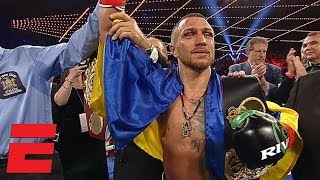 Vasiliy Lomachenko beats Jose Pedraza by decision | Boxing Highlights