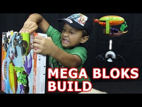 Eye-Brawl Mega Bloks Set Build + Contest (Zepplin Air Ship Assault) Skylanders Giants