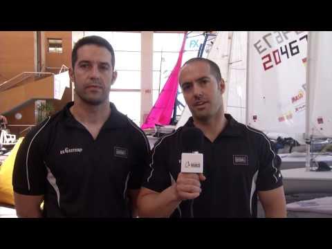Saludo Alonso Sailing Team desde Santander