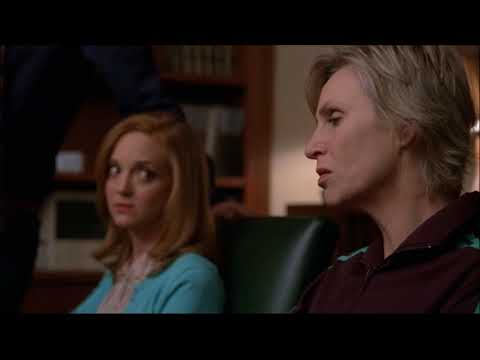 Glee - The Teachers Talk About Karofsky's Suicide Attempt 3x14 (видео)