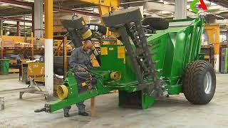 Industrie: Voyez la première opération d'exportation des moissonneuses batteuses