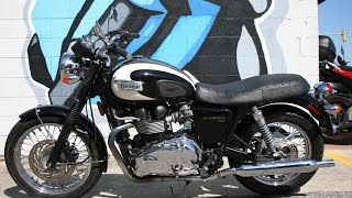 8. 2010 Triumph  Bonneville T100 ....The Great Classic Modern Motorcycle!
