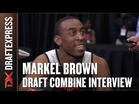 Markel Brown Draft Combine Interview