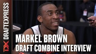 Markel Brown Draft Combine Interview
