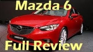 2014 Mazda 6 Diesel Test Drive Video Review In Youtube
