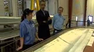 Fort Madison (IA) United States  city photos : President Barack Obama visits Siemens Fort Madison, Iowa. Windmill Plant Part 2