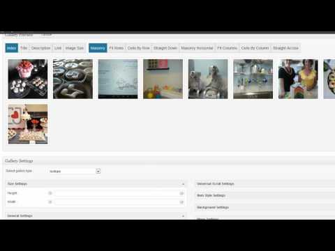 WordPress Gallery Plugin- Complete Gallery Manager- SUPER easy to use!
