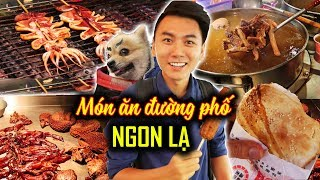 CẤP ĐỘ 9999 ẩm thực chợ đêm Raohe |Ăn Sập Đài Loan #6