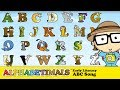The Animal Alphabet - ABC Song by the Alphabetimals
