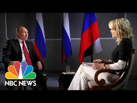 President Vladimir Putin On Russian Election Interference (Full Report) | Megyn Kelly | NBC News