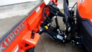8. Kubota V4291 RTV  Snow BLADE with FLOAT PARCS Equipment 304-782-4111