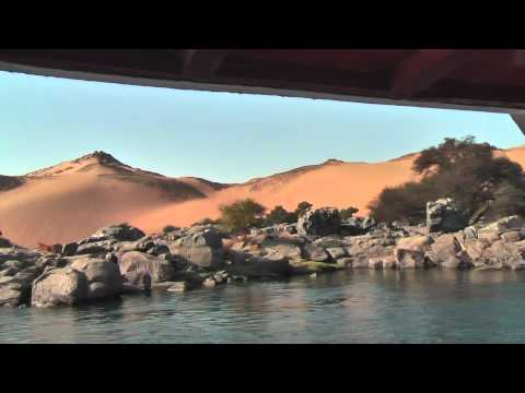Beautiful sailing trip at the First Cataract in Aswan, Egypt
