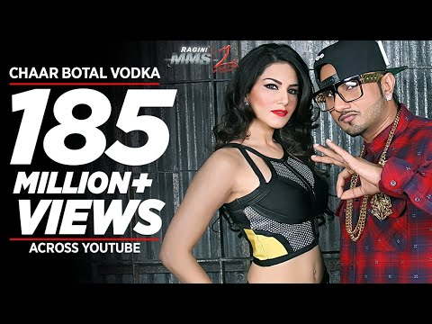 Download Chaar Botal Vodka Full Song Feat. Yo Yo Honey Singh, Sunny Leone | Ragini MMS 2 HD Mp4 3GP Video and MP3