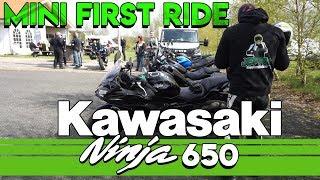 3. 2018 Kawasaki Ninja 650 - First Ride / prøvekørsel