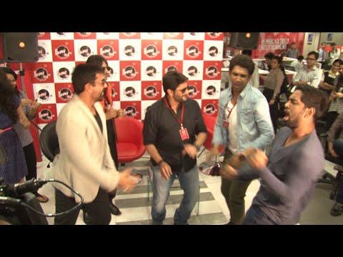 Amit sadh and Arshad Warsi At Ajaz Khan Radio Show