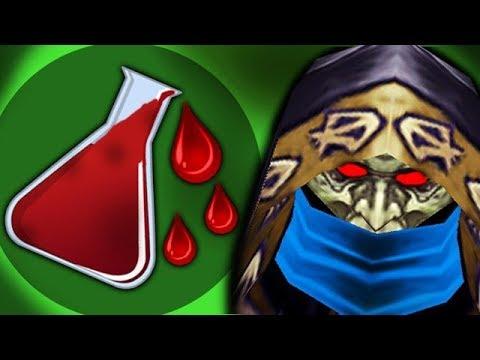 Добыл кровь врагов в warcraft 3