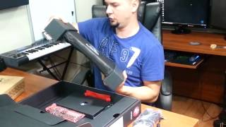 MSI GE60 Gaming Notebook Unpacking Review