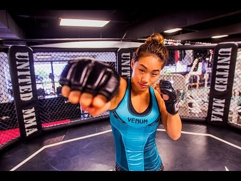 Angela Lee prepares to defend her ONE Championship title
