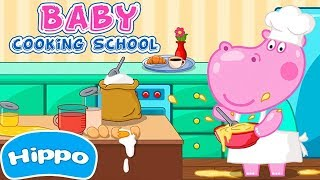 Hippo 🌼 Cooking School 🌼 Games for Girls 🌼 Teaser