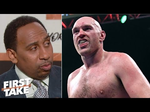 Tyson Fury brilliant for accusing Anthony Joshua of ducking Deontay Wilder - Stephen A. | First Take_Sport videók