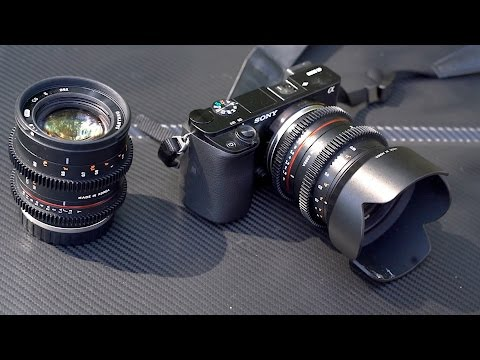 Filming NYC with Samyang Cine lenses – 21mm and 50mm