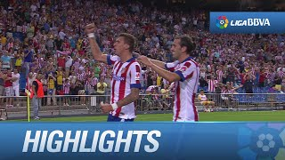 Highlights Atlético de Madrid (2-1) SD Eibar - HD