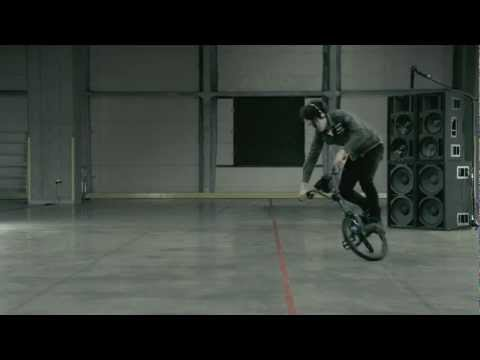 0 TURNTABLE RIDER   DJ Turntableism On A Bike | By COGOO