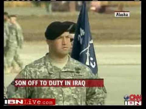 Palin Deployed To Iraq