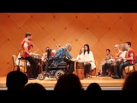 ASU African Drum Ensemble.  Walo. Fall 2013