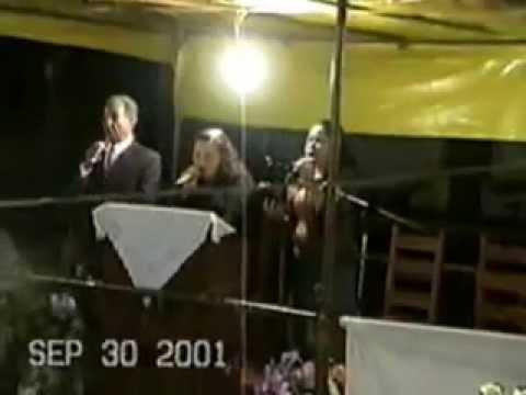 Cruzada Evangelística Peçanha/MG, 09/2001