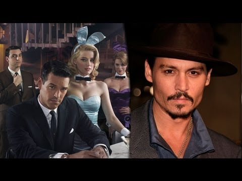 Johnny Depp Apologizes for Rape Comment & NBC Cancels The Playboy Club, Renews Up All Night
