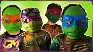 Video Teenage Mutant Ninja Turtles 1 and 2 with guest Michelangelo MP3, 3GP, MP4, WEBM, AVI, FLV Maret 2019