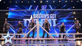 Video Tap Attack show us their fancy footwork! | Auditions | BGT 2018 MP3, 3GP, MP4, WEBM, AVI, FLV Agustus 2018