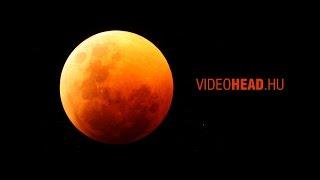 Teljes Holdfogyatkozás 2015. Április 4. (Time-Lapse)