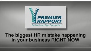 The Biggest HR Mistake happing in your Business RIGHT NOW Your company culture can make or break your business. Shelley ...