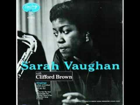 Sarah Vaughan – Lullaby of Birdland