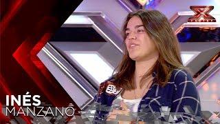 Laura Pausini estalla en lágrimas con Inés, su