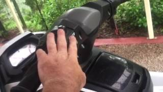 1. Clearing fault code on jetski
