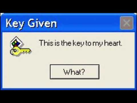 Funny Fake Windows Messages: Valentines Day Edition