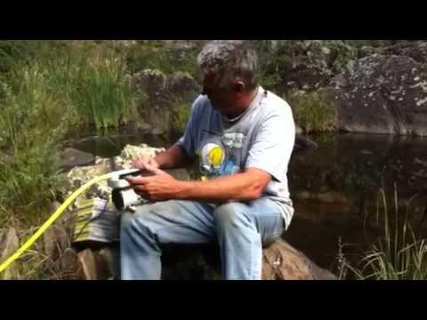 Compressor air diving