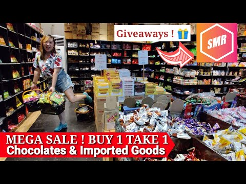 Bagsakan ng Murang Tsokolate | MEGA Sale Chocolates and Imported Goods (ShopVlogMas #7)