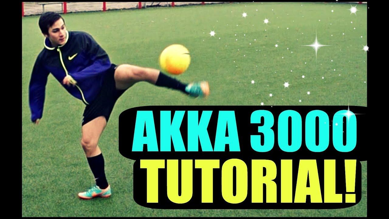 Learn THE CRAZY AKKA 3000!! – HD – Like For More Tutorials! Ronaldo/Neymar/Ronaldinho Skills